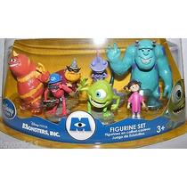 Play Set Monsters Inc Disney Store Cumpleaños Importado