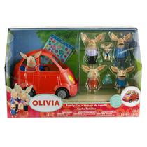 Olivia Auto Con Familia Disney Junior Fn4