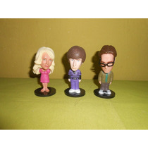 Lote 3 Figuras The Big Bang Theory Funko 8 Cms