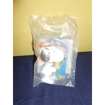 Lote 2 Figuras Snoopy Burger King