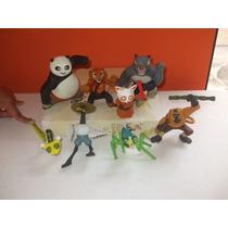 Kung Fu Panda 1 Mcdonalds Coleccion Completa 8 Figuras
