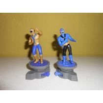 Lote De 2 Figuras De Power Rangers De Mcdonalds