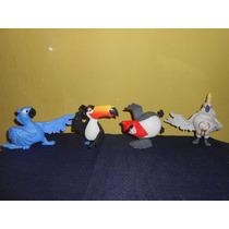 Lote 7 Figuras Rio 1 Mcdonalds Perla Pepillo Blue