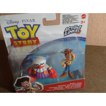 Toy Story Action Links Woody Y Sonrrisas Chukles