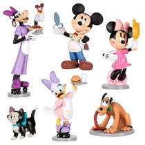 Minnie Mouse Disney Play Set De Figuras Disney Store Playset