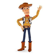 Toy Story Woody Tire Cadena 16 Figura Hablar - Exclusivo De