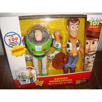 Toy Story Amigos Interactivos Woody Y Buzz 100 Frases Españo