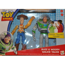 Toy Story Woody Y Buzz Walkie Talkies