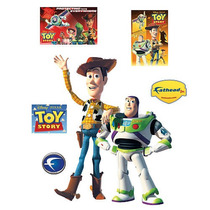 Fathead Woody Y Buzz Lightyear Tatuajes De Pared
