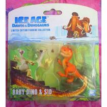 La Era Del Hielo Set De Figuras De Baby Dino Y Sid