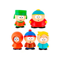 South Park Set De 5 Figuras Originales Series1