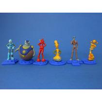 Robots La Pelicula Set 6 Figuras Coleccion Gashapon Tyc