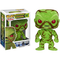 Funko Pop Swamp Thing Flocked Peludito Exclusivo