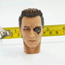 Terminator Rostro De Arnold Schwarzenegger P/fig 12 Pulg