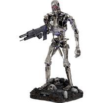 T-800 Endoskeleton Terminator Escala 1:2 Sideshow Hot Toys