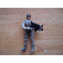 Soldado Con Arma Mide 10 Cms
