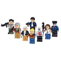 Set The Walking Dead Shane Carol Merle Andrea Lori Tipo Lego