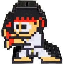 Alcancía De Riu Street Fighter Juego Efecto Pixel Money Box