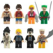 One Piece Luffy Sanji Brook Edward Flami Compatible Con Lego