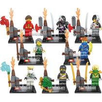 Set Sw2 Ninjago 8 Diferentes Figuras Minifiguras Para Armar