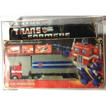 Transformers G1 Vintage Optimus Prime Iga Mexico En Acrilico