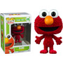 Funko Pop Elmo Peludito Flocked Plaza Sesame Street Sesamo