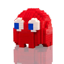 Pacman Bricks Armable Del Videojuego Geek 289 Bloques Mini