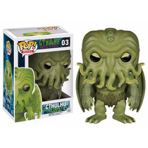 Chthulhu Funko Pop H. P. Lovecraft Libros Master Terror #03