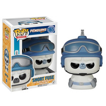Funko Pop Short Fuse Madagascar Penguins Solo Conocedores