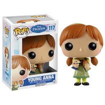 Funko Pop Young Anna Frozen Disney Nuevo Original Niña Caja