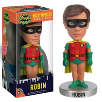 Funko Bobble Head Robin De La Seria De Batman 1966 Dc Comics
