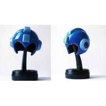 Mini Casco De Mega Man Helmet Blue Capcom Nuevo Original