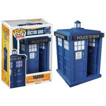 Funko Pop Tardis Doctor Who Caseta Azul Grande Vinyl Nuevo
