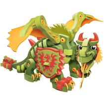 Dragón De Combate Armable Juguete Para Niños Foamy Bloco