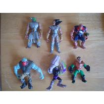 6 Figuras De Mounstruos Miden 8 Cms