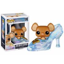 Gus Gus En Zapatilla Funko Pop Cenicienta Disney Princesa