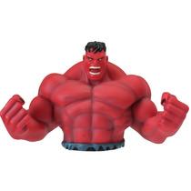 Alcancía De The Incredible Hulk Avengers Rojo Marvel Nueva