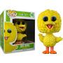 Funko Pop Big Bird Flocked Peludito Plaza Sesamo Sesame