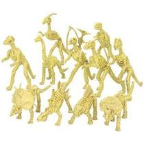 Fósil De Dinosaurio Surtido Esqueleto 5-6 Figuras, 12 Pieza