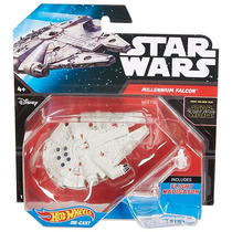 Star Wars Millennium Falcon Alcon Milenario Nave Hot Wheels