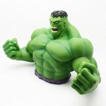 Alcancía De The Incredible Hulk Avengers Verde Marvel Nueva