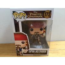 Funko Pop! Capitán Jack Sparrow Piratas Del Caribe