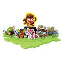 Moshi Monsters Set De Diavlo Armable Del Burger King