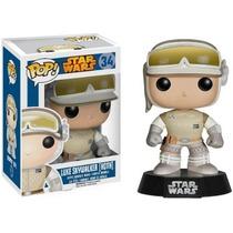 Muñeco Funko Pop! Luke Hoth Star Wars Skywalker Vader Han