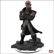 Muñeco Infinity 2.0 Nick Fury Figura Marvel Avengers