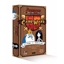 Hora De Aventura Card Wars Ice King Vs Marceline
