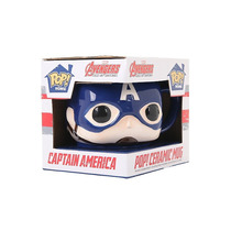Funko Taza Capitan America Ceramica Marvel Civil War Captain