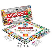 Monopoly Nintendo Juego De Mesa Geek Nuevo En Caja