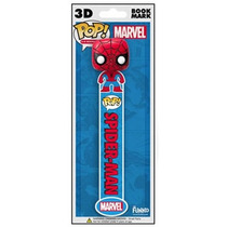 Funko Bookmark 3d Spider Man Marvel Separador De Libros