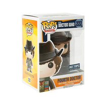 Funko Pop Fourth Doctor Who Exclusivo Gorro Vinyl Cuarto Doc